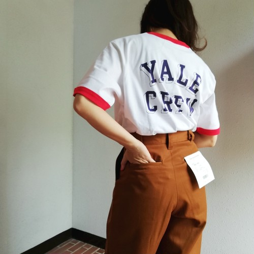 The BOOK STORE(YALE VINTAGE RINGER CREW TEE)