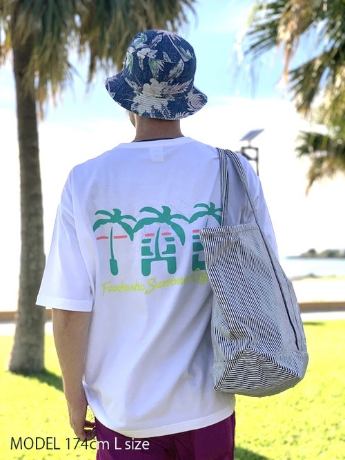 "Pocket Big Tee ""Summer Gypsy"""
