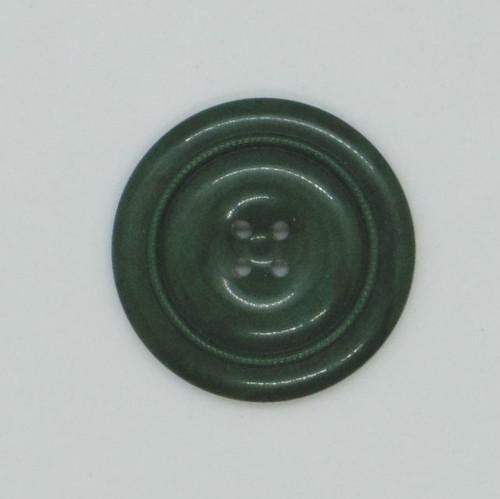 木製ボタン::: つややかな深緑