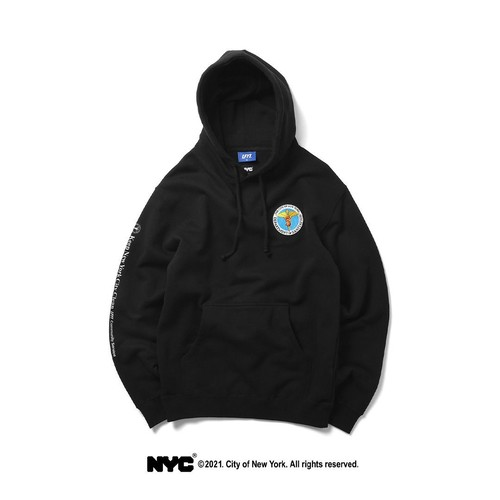 LFYT X DSNY COMMUNITY SERVICES PULLOVER HOODIE / BLACK