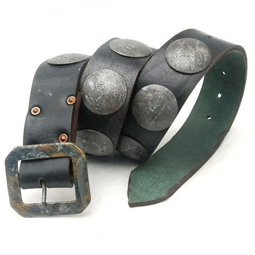 VINTAGE Hand Craft Choncho Leather Belt