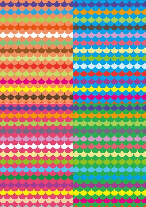 ■リリース記念4種類set A4用紙 085-088【nami-nami】5枚×4種 1500円