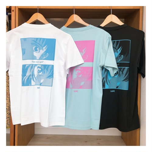 【X-girl】X-girl × EVANGELION BOY MEETS GIRL S/S TEE