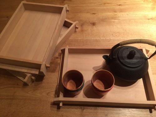 昔の道具 モロブタ型の木のトレイ(トレー)