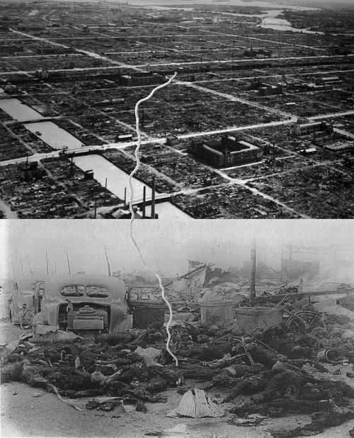彦坂尚嘉『日本の惨劇ー東京大空襲#4』
