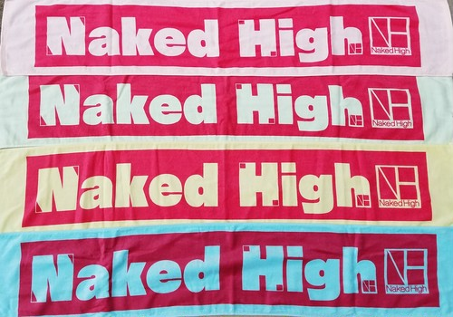 【New】Naked High マフラータオル※全4色