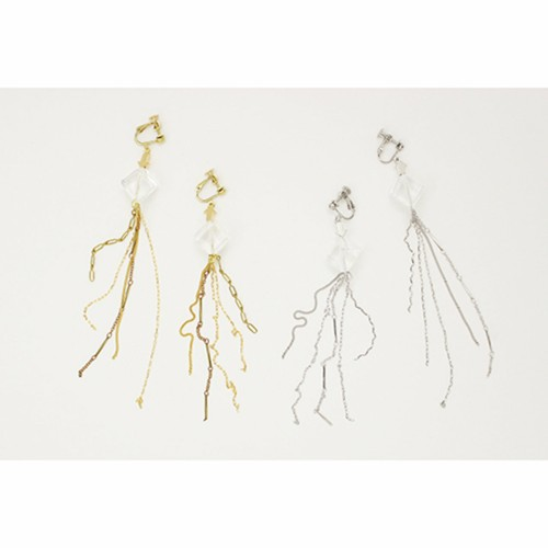 Aquvii | See Through Earring A