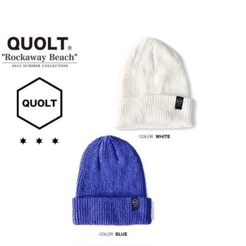 quolt / LINEN BEANIE / BLUE