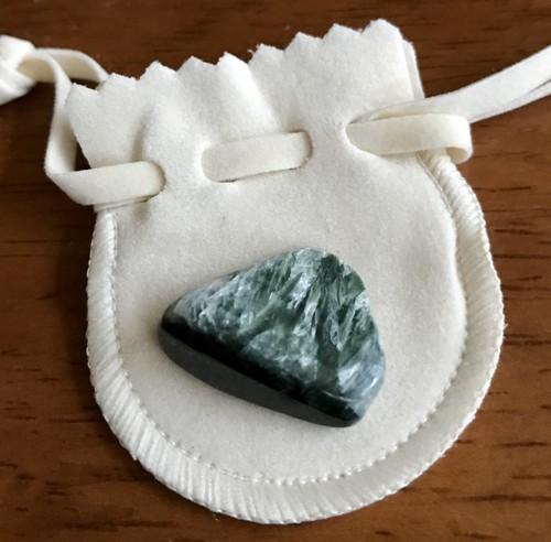 天使の羽模様 セラフィナイト タンブル 天然石