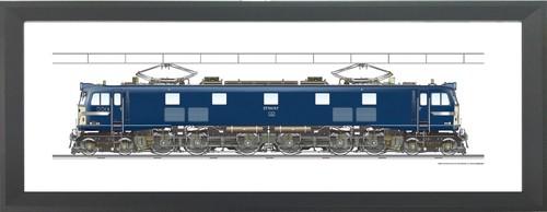 EF58 157  1200x300mm