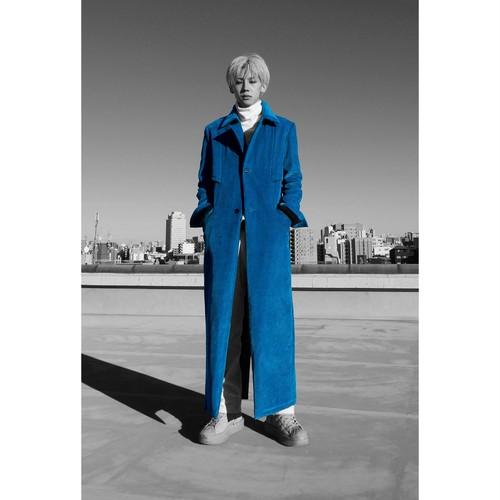 "21S MODAL COAT ""TRENCH"" #BLUE"