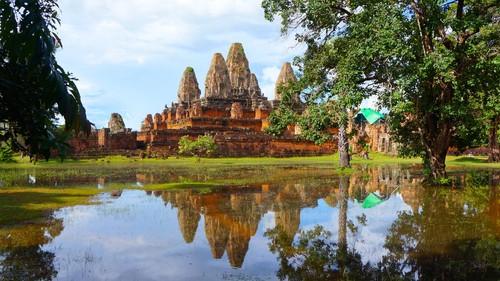 ポストカード(カンボジア①)全5種
