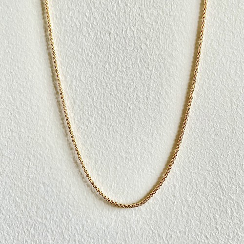 【GF1-90】16inch gold filled chain necklace