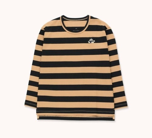 "TINYCOTTONS タイニーコットンズ ""TINY FUJI"" STRIPES TEE  size:2Y(95-100)・8Y(120-130)"
