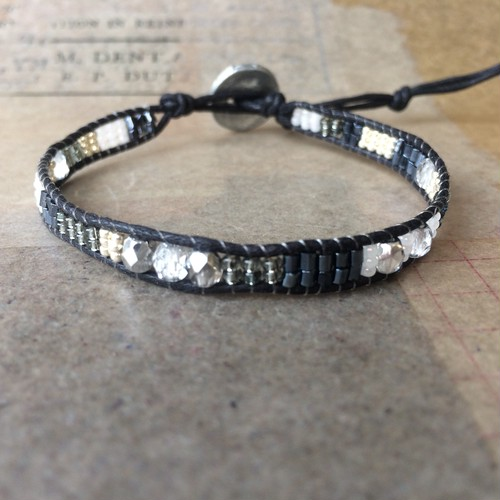 wrap bracelet:black