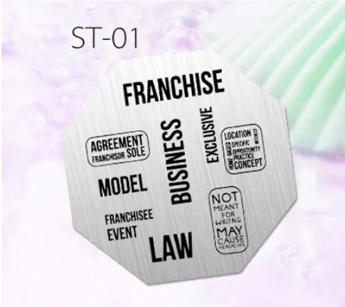 スタンピングプレート 英字ST-01