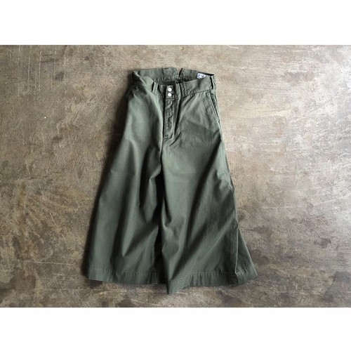 AMERICANA(アメリカーナ) Back Satin Hi Waist Wide Pants
