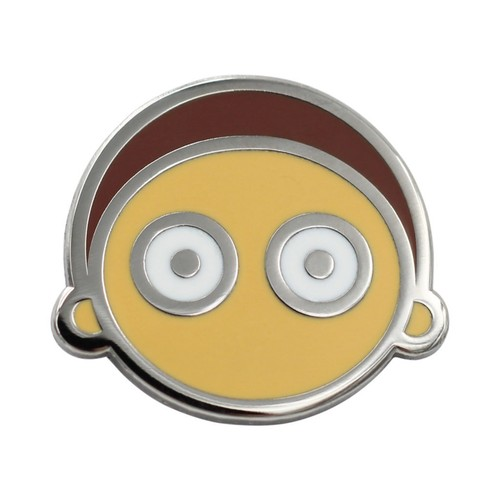 "Real Sic""Speak No Morty – Rick And Morty Pin"""