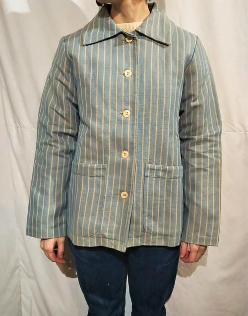 ARMEN  Herringbone stripe jacket /Made In France [2093]