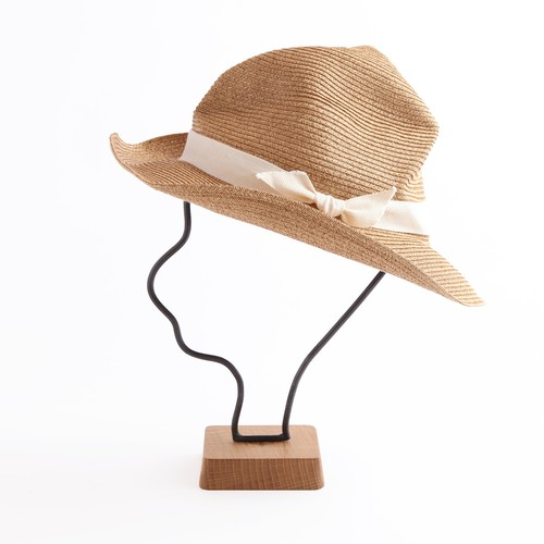 mature ha./BOXED HAT106 mixbrown×natural