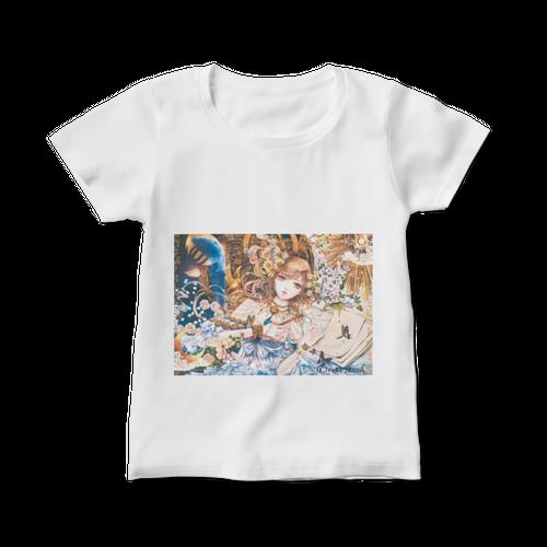 オリジナルレディースTシャツ【百年の窒素】 / yuki*Mami