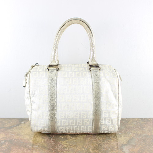 .FENDI ZUCCA PATTERNED BOSTON BAG MADE IN ITALY/フェンディズッカ柄ボストンバッグ 2000000049298