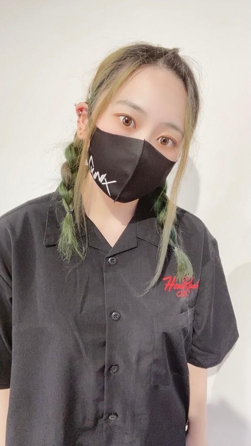 GUNIX 黒マスク