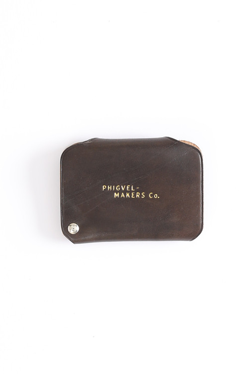 Card case / PHIGVEL / Dark Brown