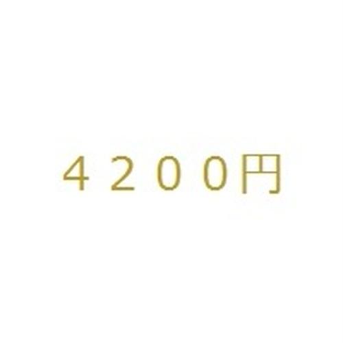 4200円分
