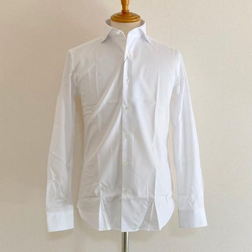 Bias JQ Horizontal Collar Shirts White