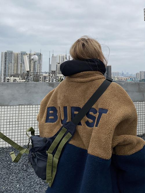 ★UNISEX BURSTもこもこビッグアウター 29800