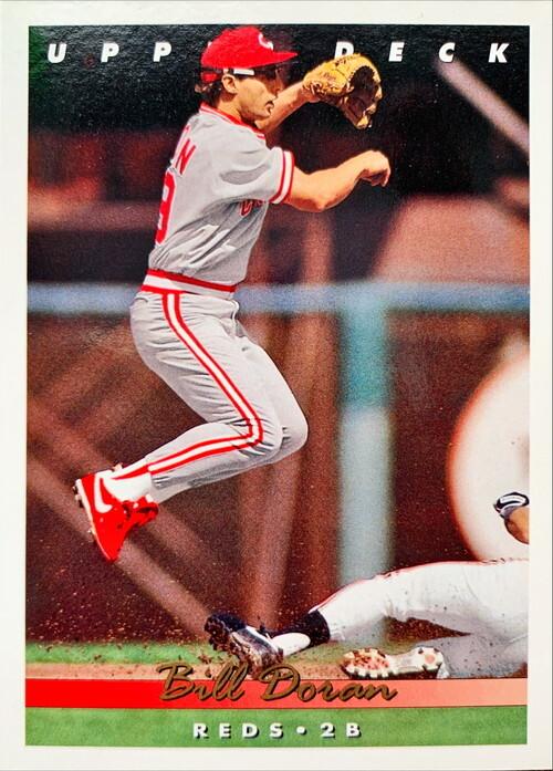 MLBカード 93UPPERDECK Bill Doran #107 REDS