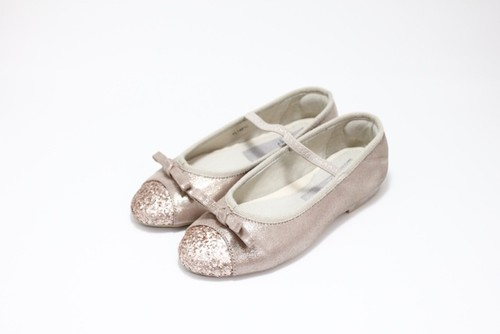 Ribon Pumps (gold)