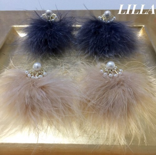 【RE-STOCK】 pearl sparkle × fur