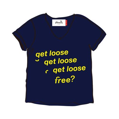 get loose / free? TEE for unisex (N)