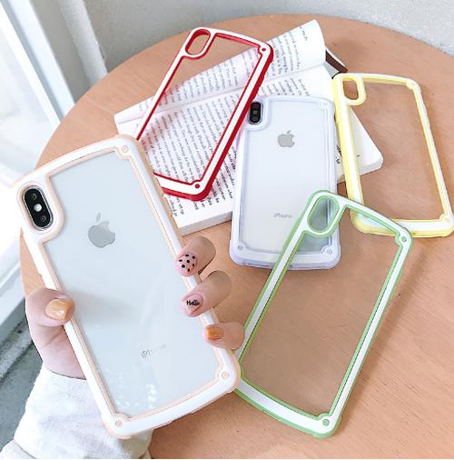 【お取り寄せ商品、送料無料】5色 キャンディーカラー iPhoneケース