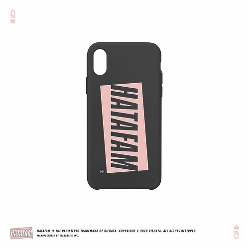 """HATAFAM Logo"" iPhone Case - Black"