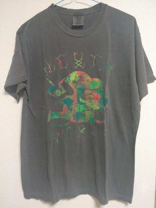 ヘンタイワークス Wacky(COLORgung)デザイン 後染めTシャツ hentai25works