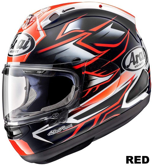 ARAI RX-7X GHOST RED