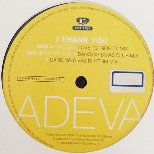 ADEVA - I Think You (12inch) [house] 試聴 fps7706-10