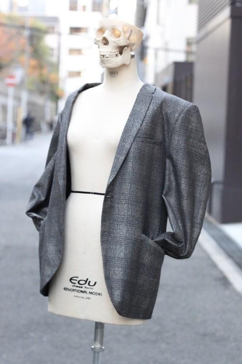 70's wool tailored jacket