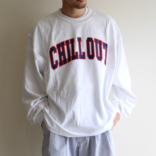 is-ness music【 mens 】chillout long sleeve t-shirts