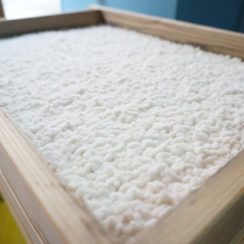 室葢で製法した雪のように白い米麹 6枚切り 950g