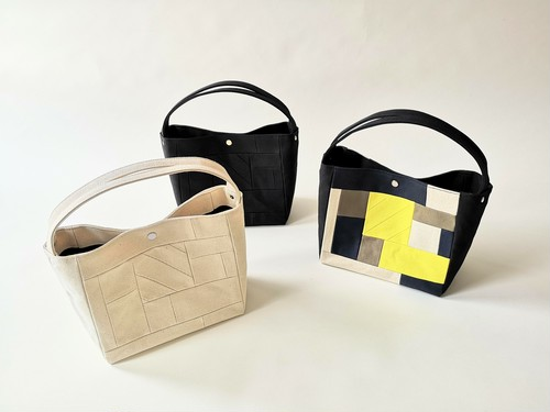 Square tote S -MOSAIC-