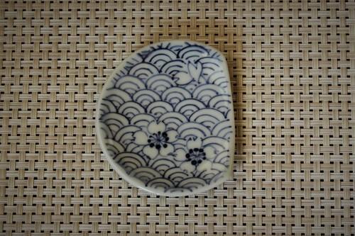 青海波箸休め豆皿