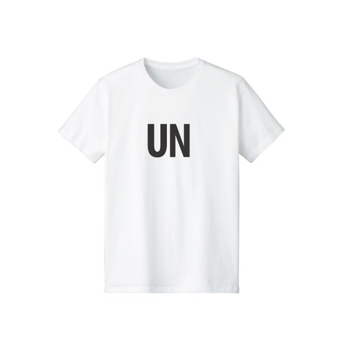 UNFUDGE Shortsleeve Tshirts / Printdesign : UN / Color : white