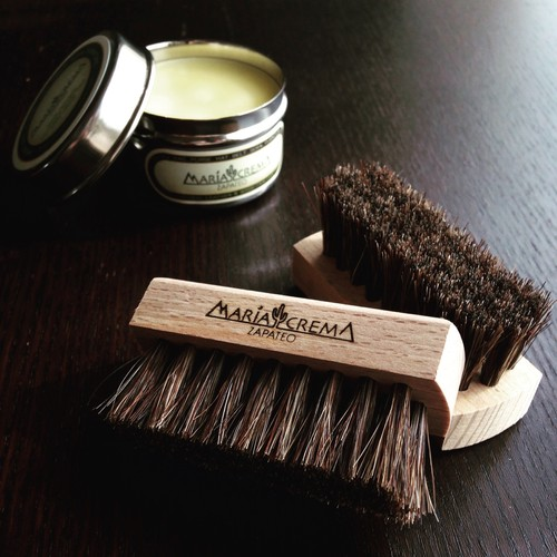 MARIACREMA Shoe Shine Brush