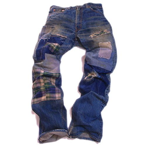Levi's 502 Denim Pants Handmade Custom ハンドメイド カスタム
