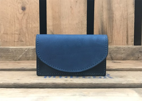 RE.ACT Solid Indigo Card Case