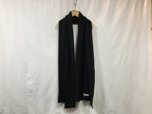 "CURLY""CLOUDY STOLE BLACK"""